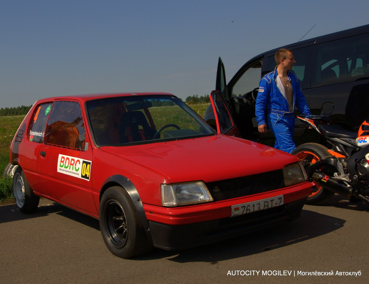 Томашевич Виталий -  Peugeot 205 (г. Минск)