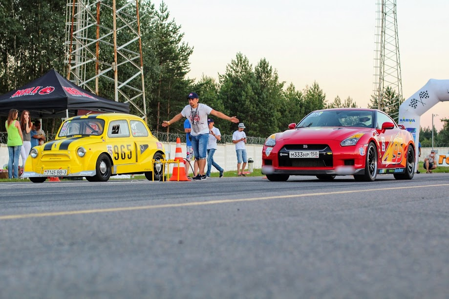 DRAG RACING MINSK - отчет